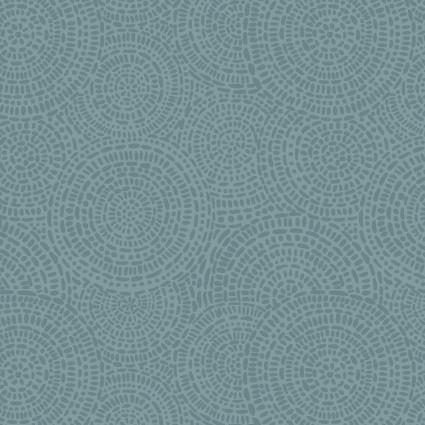 P&B Textiles Aztec AZTC 04146 DT Dark Teal