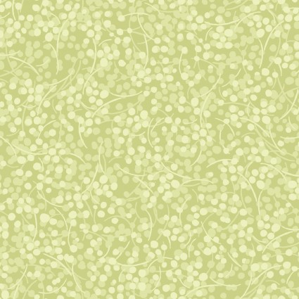 3/4 yd Remnant Berry Nice Light Green