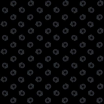 Bear Essentials 4 - Small Dots on Black