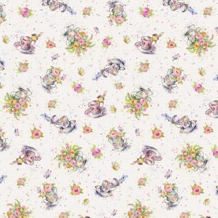 Flowers & Feathers - Teacups & Flowers - Multi