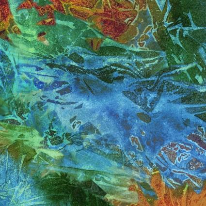 Flower Jewels-Batik Texture-4260