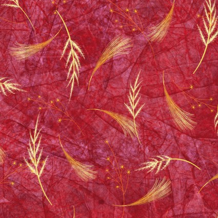 Flower Jewels Wheat Toss Red