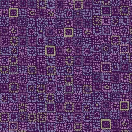 04232 VV Kashmir Kaleidoscope for P&B Textiles. 100% cotton 43 wide