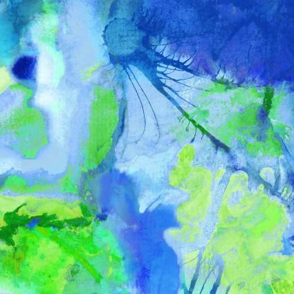 Living Coastal Blue/Green Ink