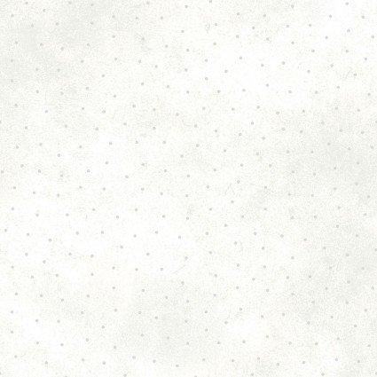 PB- Sparkle Suede Dots Metallic Silver on White