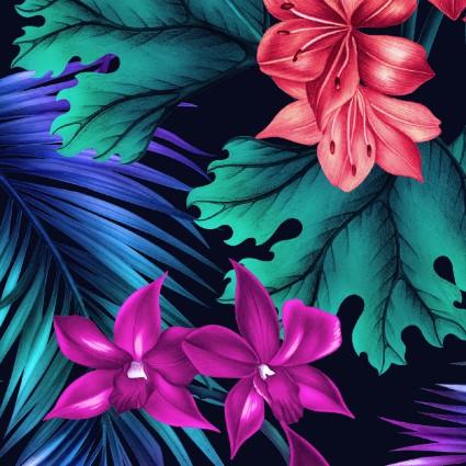 04300MU Tropic Gardens Tropical Flora Multi