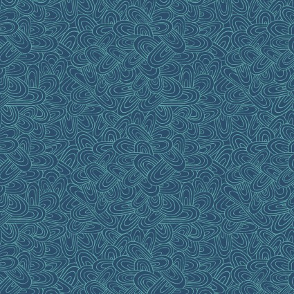 Whimsy paper clips Turquoise/blue
