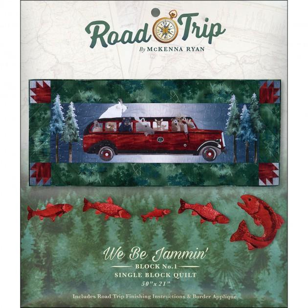McKenna Ryan Designs - We Be Jammin' - Block #1 of Road Trip