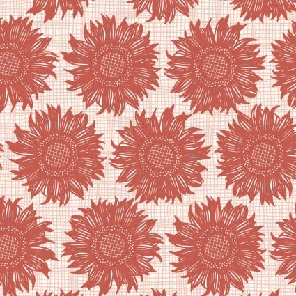 Prairie Sisters - POCPS19016 - red - 1 2/3 yds
