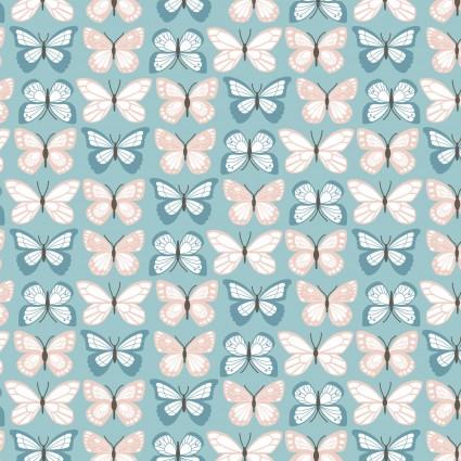 Wanderings - Flutter - Blue-  POCWW19064
