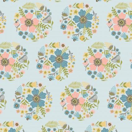 Wanderings - Bloom - Blue -  POCWW19070