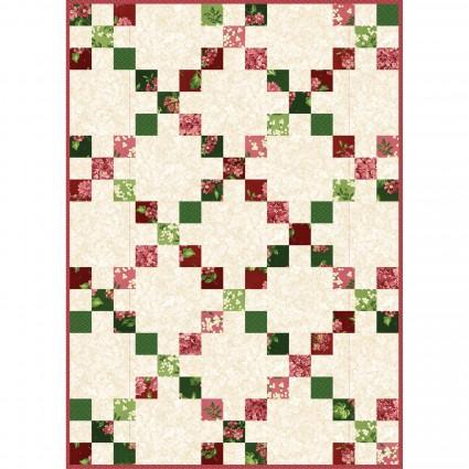 Lexington Irish Chain Quilt kit 30x42 By Maywood Studios