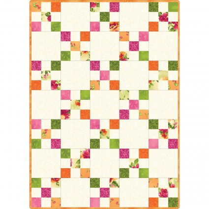 Pods Irish Chain Quilt Kit Paradise