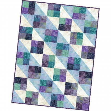 Four Square Quilt Pod Coastal Chic Batiks 36 x 48