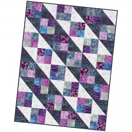 Four Square Quilt -Easy Peasy Pre-cut project