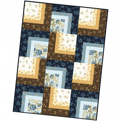 English Countryside Corner Cabin Quilt Pod