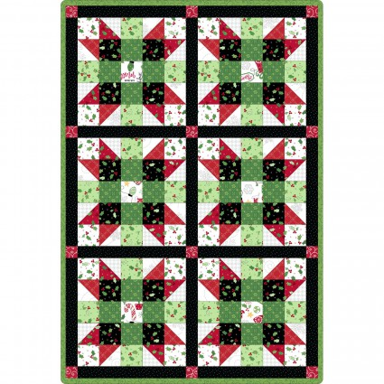 Sister's Choice 6 Block Quilt Jingle All