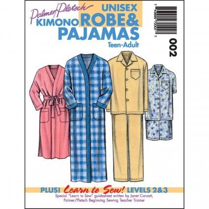 Unisex Kimono Robe & Pajamas