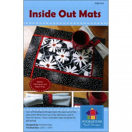 Poorhouse Designs Inside Out Mats Pattern