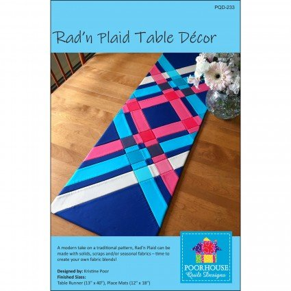 Rad'n Plaid Table Runner