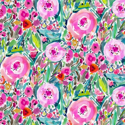 10226 The Flowered Garden for Print Concepts Inc. 100% cotton 43 wide