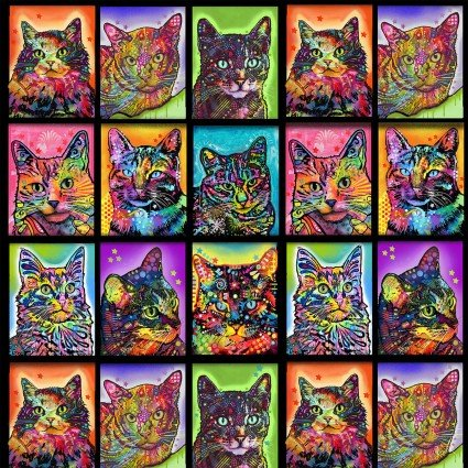 Crazy for Cats Small Blocks