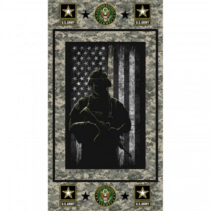 Army Panel 23 x 44