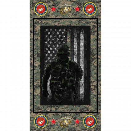 Marines Panel 23 x 44