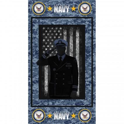 Navy Panel 23 x 44