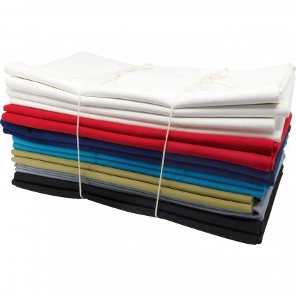 10oz Canvas Solids 60 Flat Folds TURQUOISE
