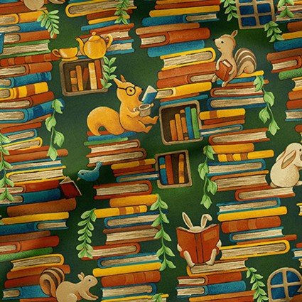 Forest Fables - Stacked Books