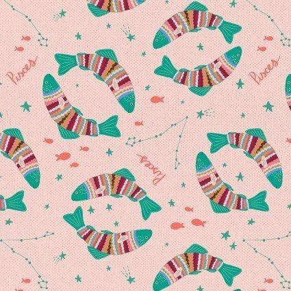 Astrology Pisces 21285 Light Pink