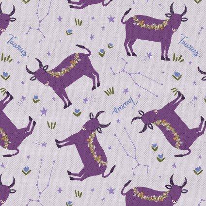 Astrology Taurus 21289 Light Purple