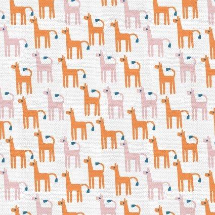 Animal Kingdom - Alpaca - Orange/Pink