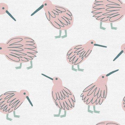 Animal Kingdom - Kiwi - Pink/White
