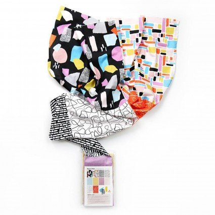Abstract Collage FQ bundle Bright