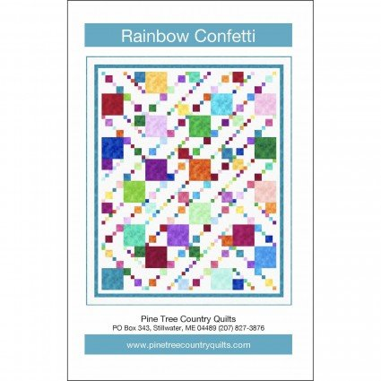 Rainbow Confetti Pattern PTC1826