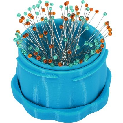 Magnetic Pin Cup Large - Blue