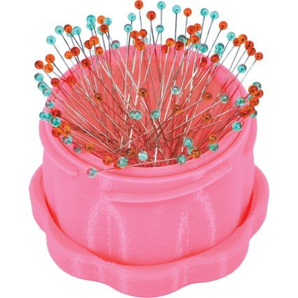 Magnetic Pin Cup Large - Pink