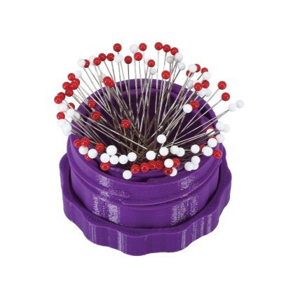 Magnetic Pin Cup - PURPLE