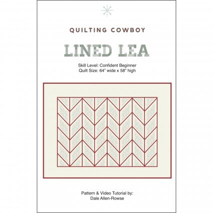 Lined Lea Pattern by The Quilting Cowboy