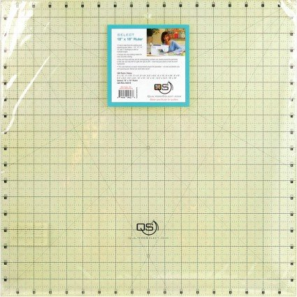 Quilters Select Quilting Ruler 18 x 18