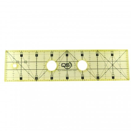 Precision Machine Quilting Ruler 2 x 8