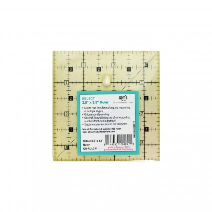 Quilters Select Quilting Ruler 3.5 x 3.5