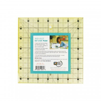 6.5 X 6.5 Quilters Select Ruler