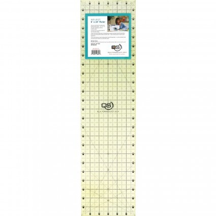 Quilters Select Quilting Ruler 6 x 24