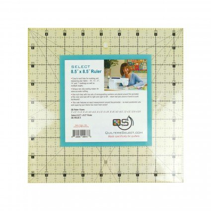 Quilters Select Quilting Ruler 8.5 x 8.5