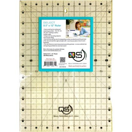 Quilter's Select 8-1/2 x 12 Ruler