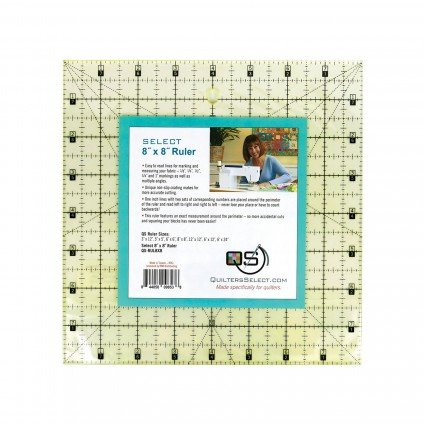 Quilters Select Ruler 8 x 8