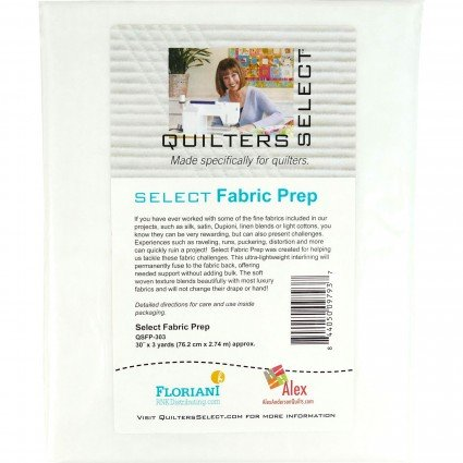 Quilting Select Fabric Prep